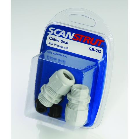 Scanstrut SB-2G Vandtæt kabel gennemføring