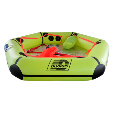 Duarry Coastal redningsflåde 3-4 personer