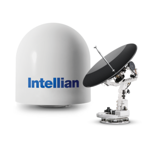 Intellian v100 8w Ku antenna